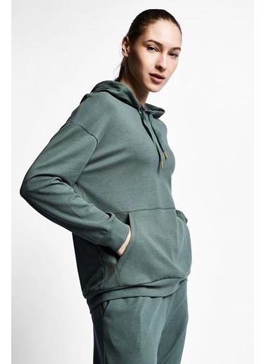 Lescon Sweatshirt Yeşil